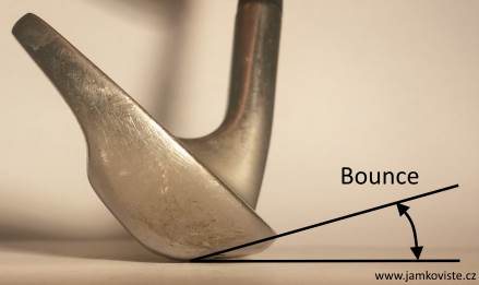 Sand wedge bounce