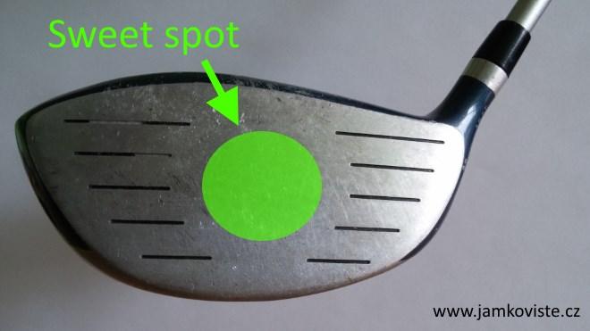 Sweet spot golfové hole