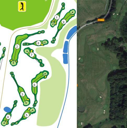 Veřejné golfové hřiště Konopiště
