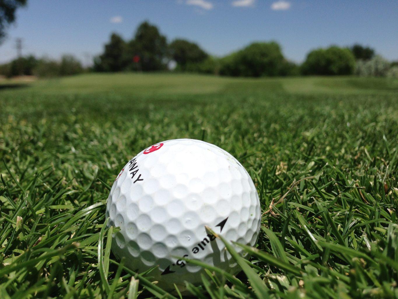 Hmotnost golfového míčku
