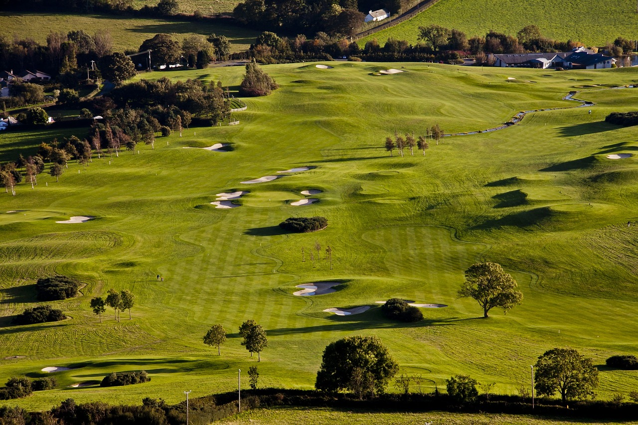 Délka golfového hřiště