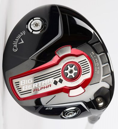 Driver Callaway Big Bertha Alpha 815 Double Black Diamond