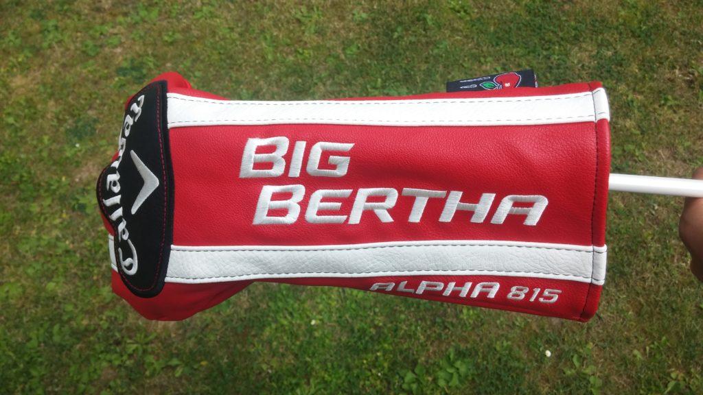 Driver Callaway Big Bertha Alpha obal