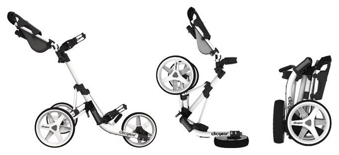 Složení golfového vozíku