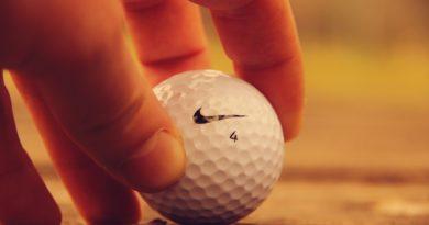 Důlky na golfovém míčku