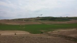 Stavba hotelu na golfovém hřišti v Kácově