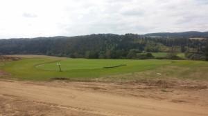Green na golfovém hřišti v Kácově
